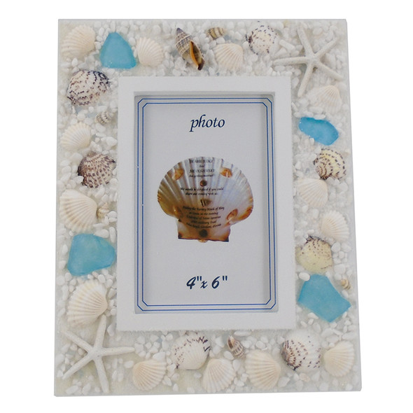 Sea Glass Picture Frame