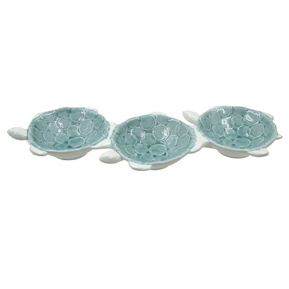 Sea Turtle Trio Plate