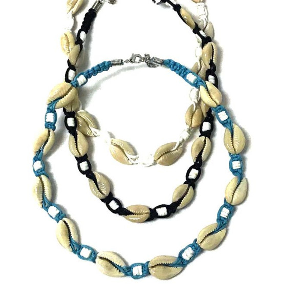 Cowrie Choker Necklace