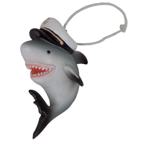 Captain Shark Ornament