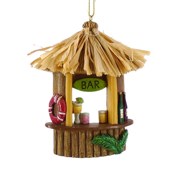 Tiki Bar Ornament
