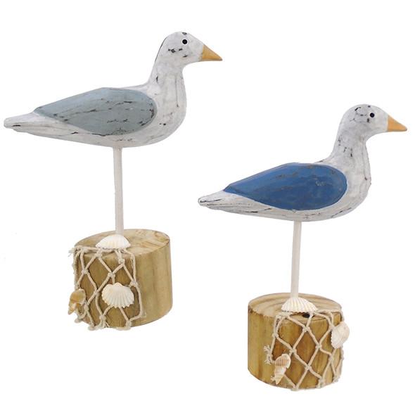 Sea Birds on Piling