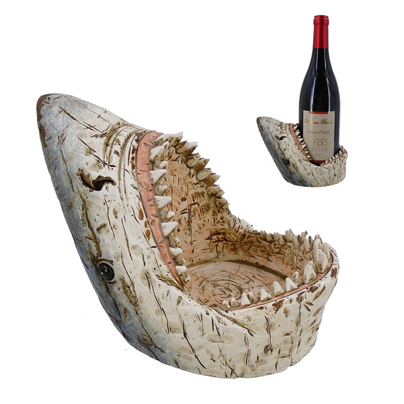 Shark Wine Bottle Holder
