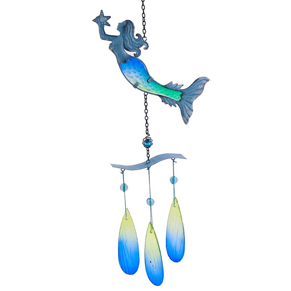 Metal Mermaid Chime