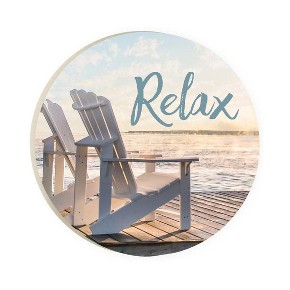 Relax Chairs Car Coaster