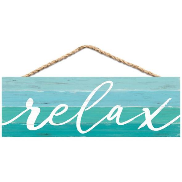 Relax Aqua Stripes