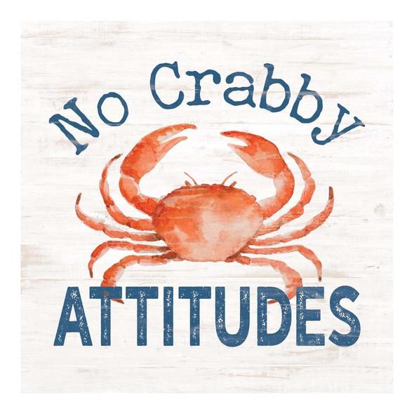 No Crabby Attitudes