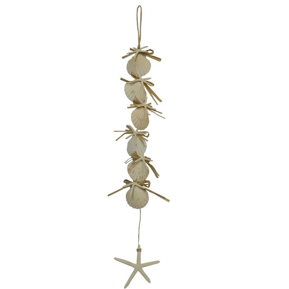 Shell & Tassel Dangler