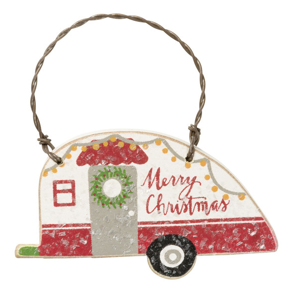 Merry Christmas Camper Ornament