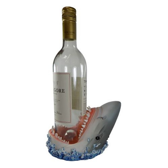 Shark Head Wine Bottle Holder