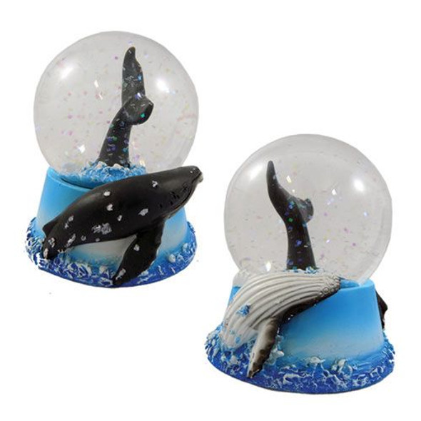 Humpback Whale Tail Snow Globe