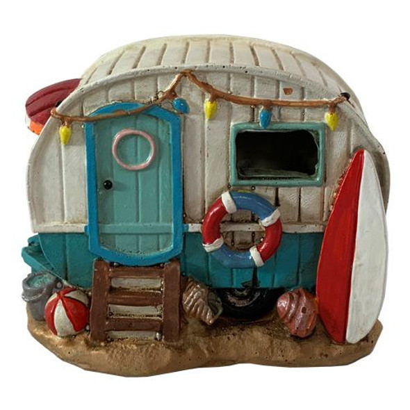 Light Up Camper Figurine