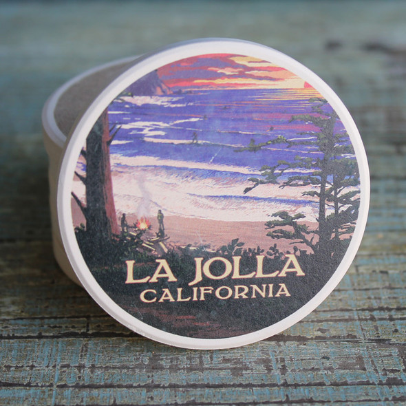 La Jolla Beach Car Coaster