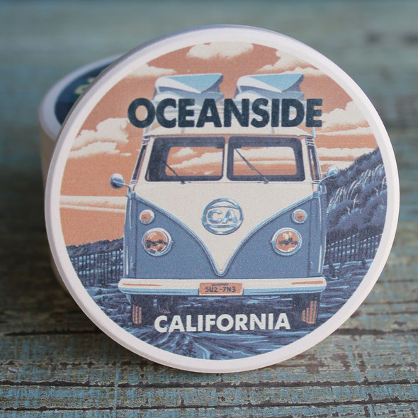 Oceanside VW Van Car Coaster