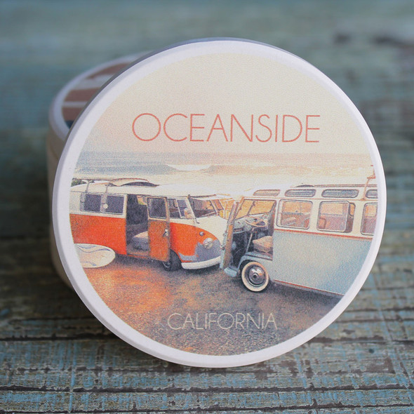 Oceanside Vans Car Coaster