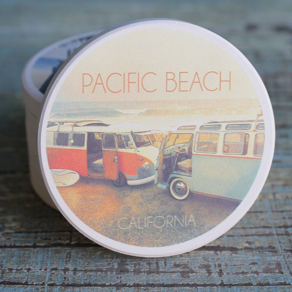 Pacific Beach Vans Car Coaster