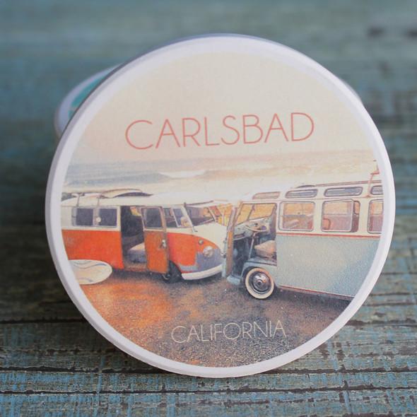 Carlsbad Vans Car Coaster