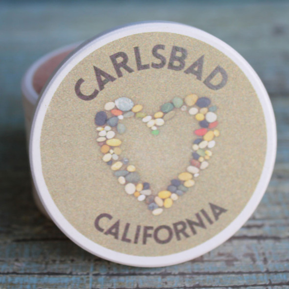 Carlsbad Stone Heart Car Coaster