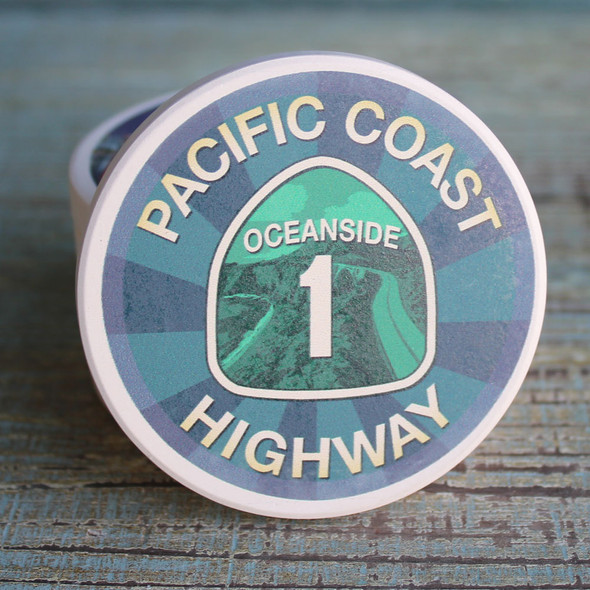 Oceanside PCH Car Coaster