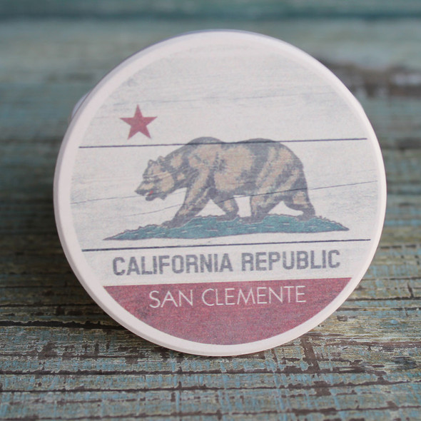 San Clemente CA Republic Car Coaster