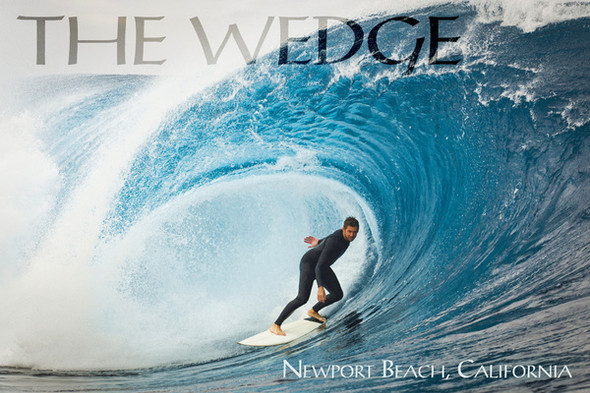 The Wedge Newport Beach Car Coaster