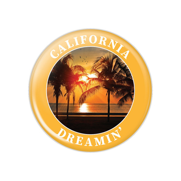 California Dreamin' Button