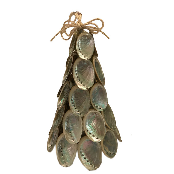 Abalone Christmas Tree Ornament