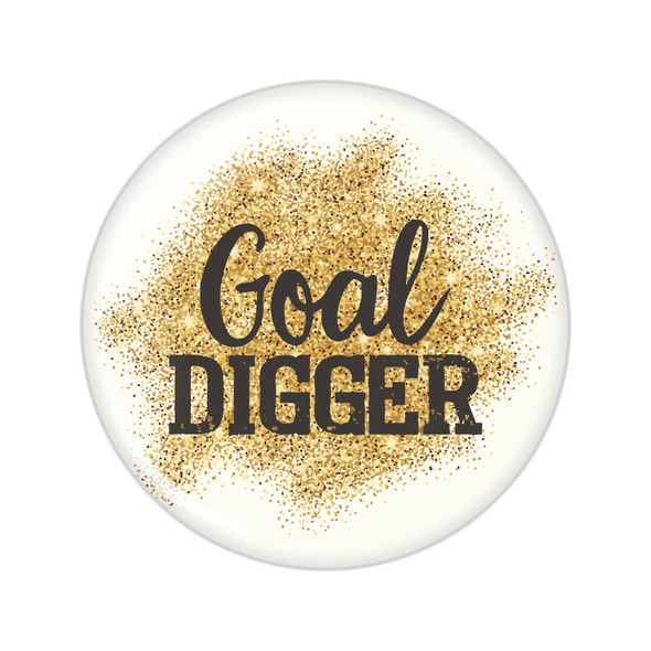 Goal Digger Beachin' Button