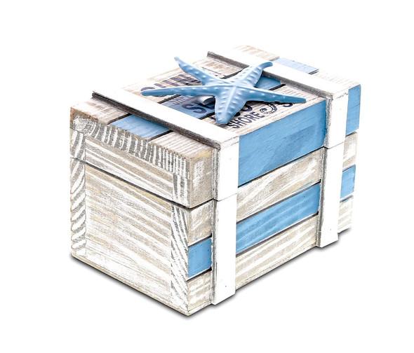 Aqua Sky Jewelry Box