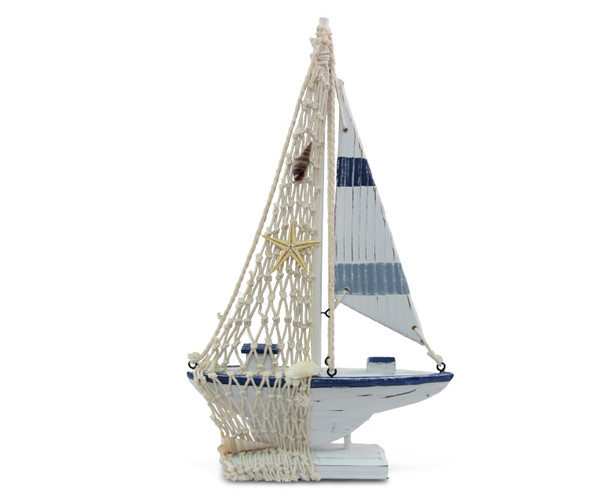 Blue Stripes Boat