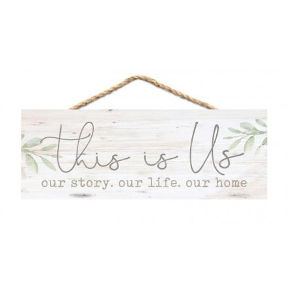 This is Us Rope Sign