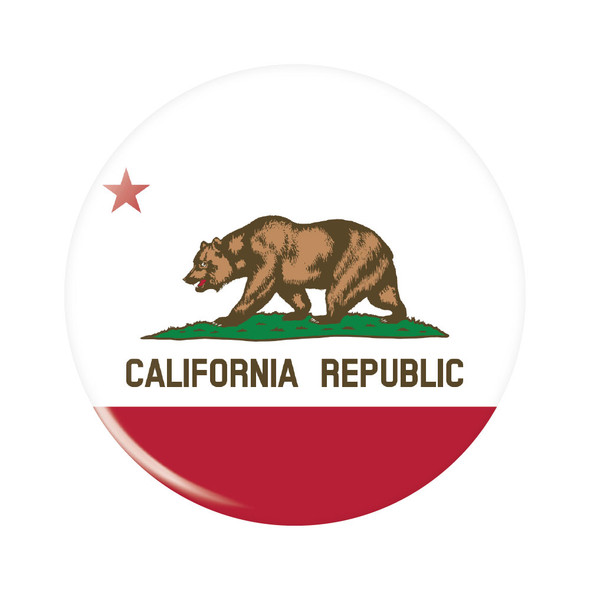 California Republic Button