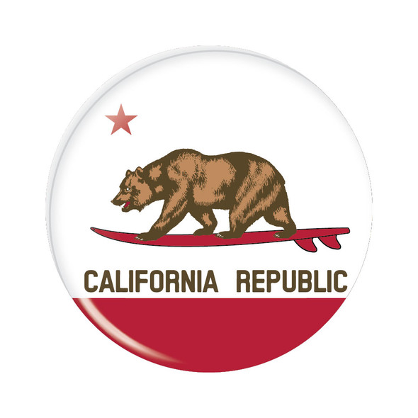 Surfin' California Republic Flag