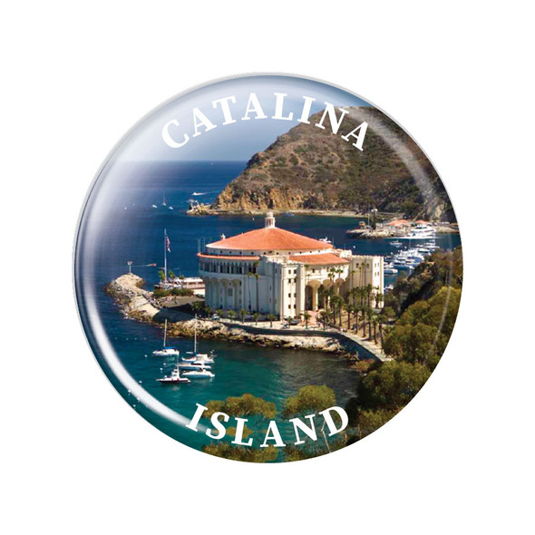 Catalina Island Casino Magnet