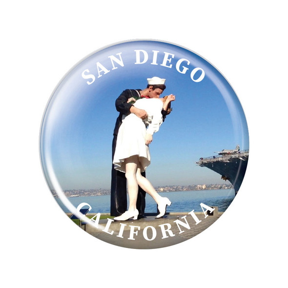 San Diego Kissing Sailor Magnet