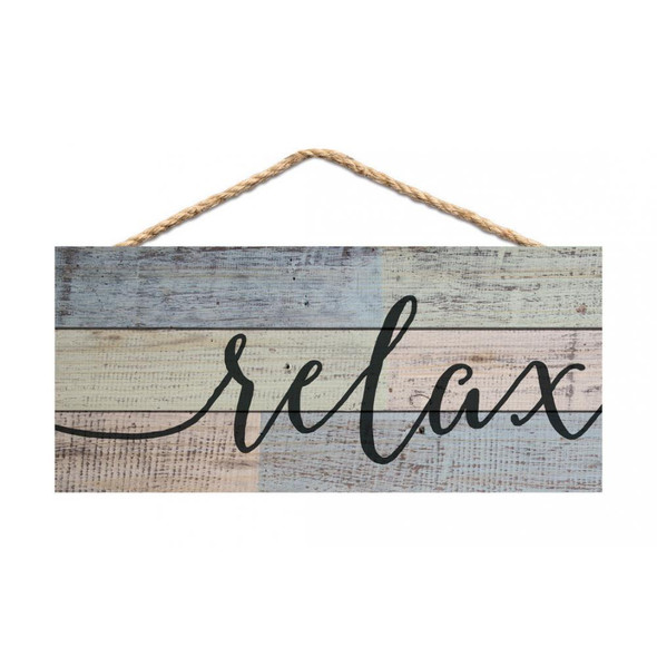 Relax Rope Sign