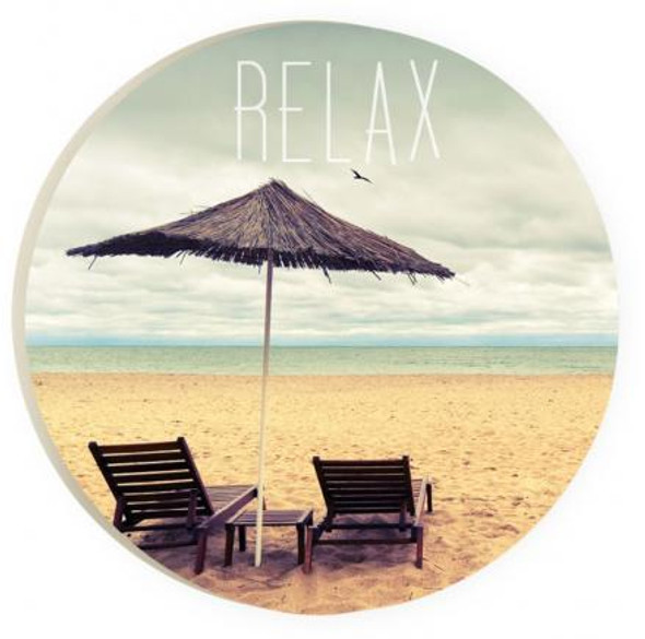 Relax Umbrella Car Coaster