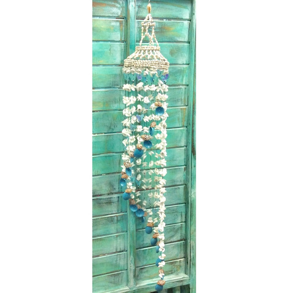 Aqua Butterfly Chime