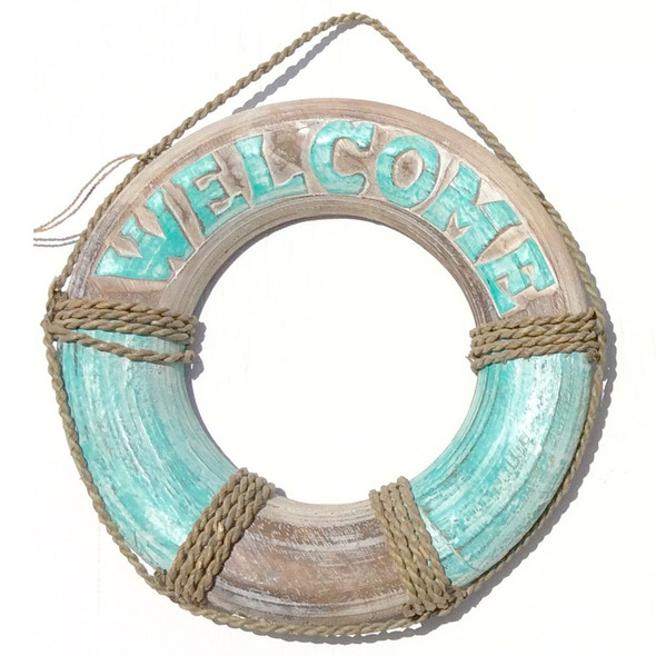 Life Ring Welcome Sign