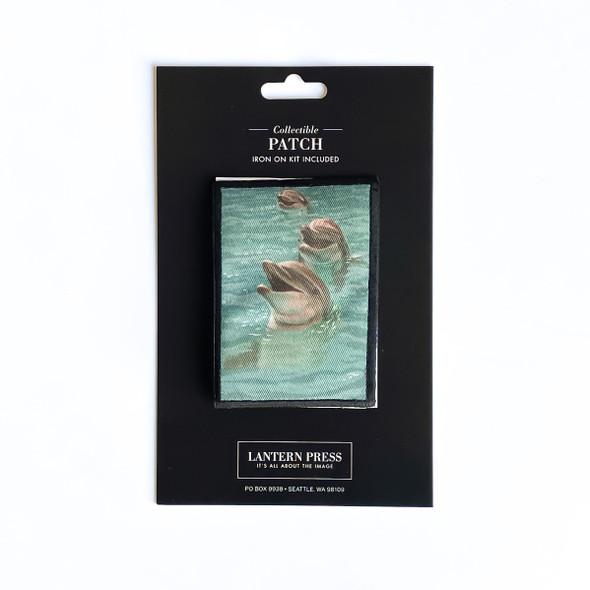 Dolphin Patch - Lantern Press