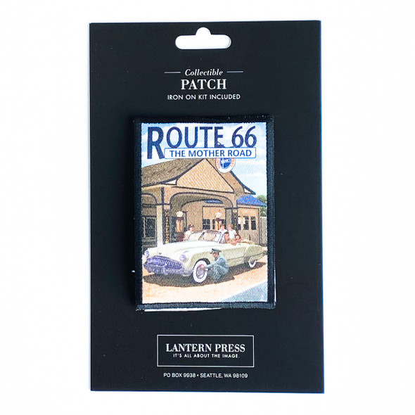 Route 66 Service Station Patch