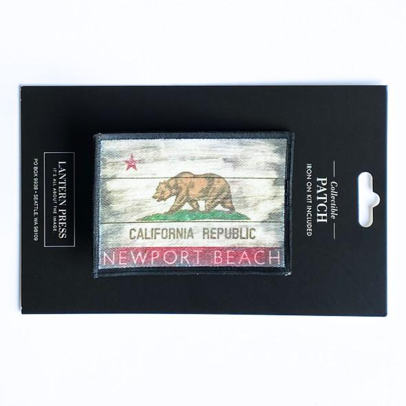 Newport Beach Cali Republic Flag Patch