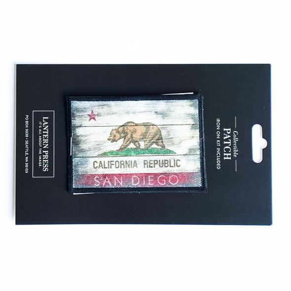 San Diego Cali Republic Flag Patch