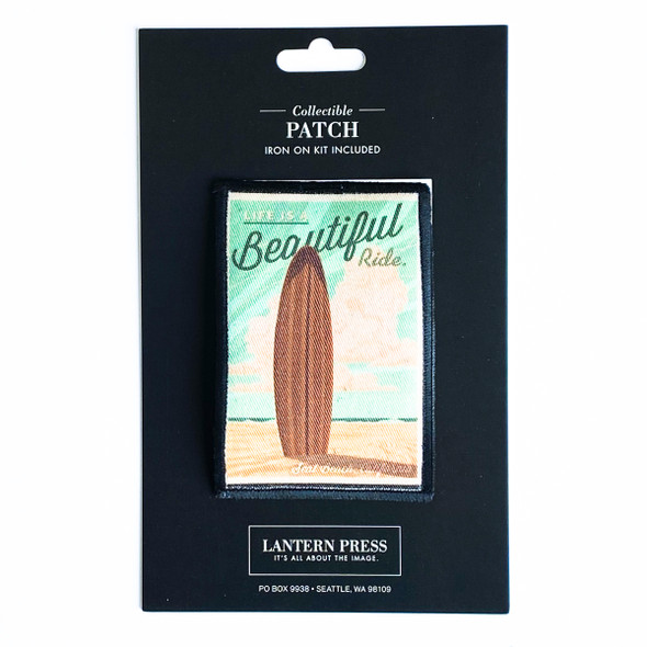 Seal Beach Surfboard Patch