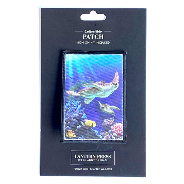 Sea Turtles Swimming Patch