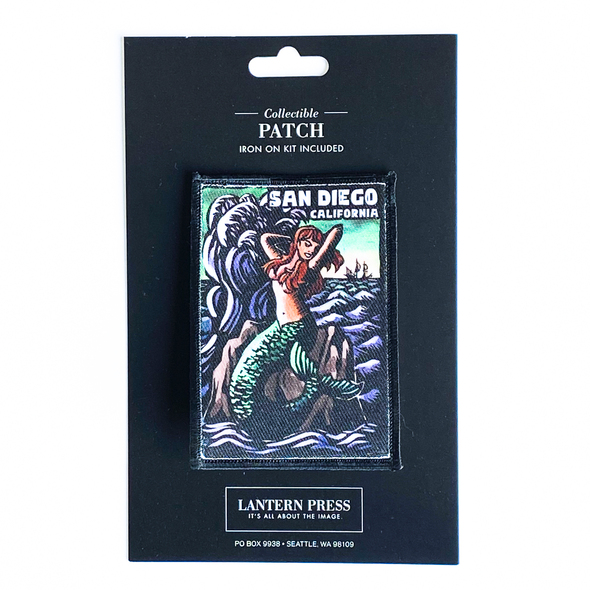 San Diego Mermaid Patch
