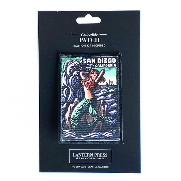 San Diego Mermaid Patch