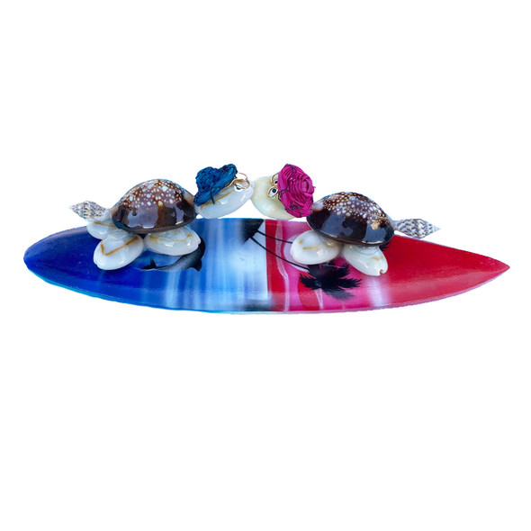 Kissing Turtles Magnet