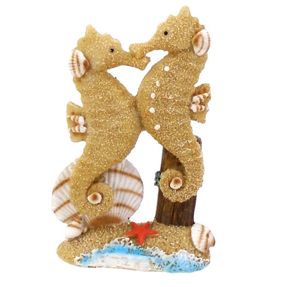 Seahorse Duo Statue