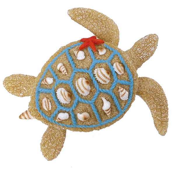 Resin Sea Turtle Figurine